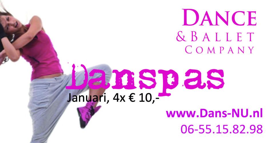 Kom je dansen met de Danspas?
