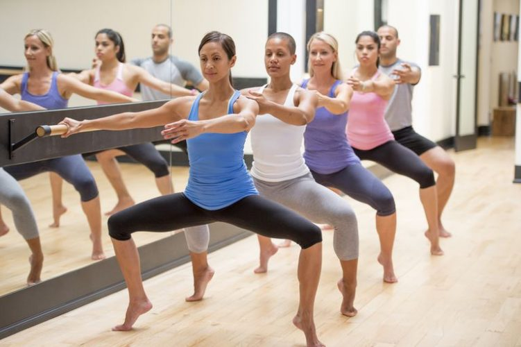 Ballet in Shape, barre workout